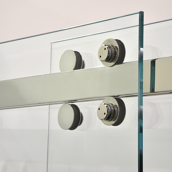 Cambridge Frameless Bypass Sliding Shower Door System
