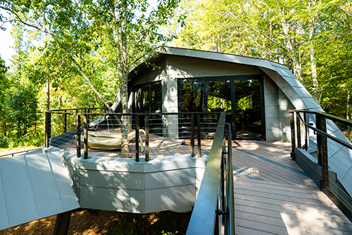 New Treehouse at Camp Southern Ground on