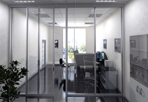 Lovely CRL U.S. Aluminum Expands Its Office Partitions Line With 487 ...