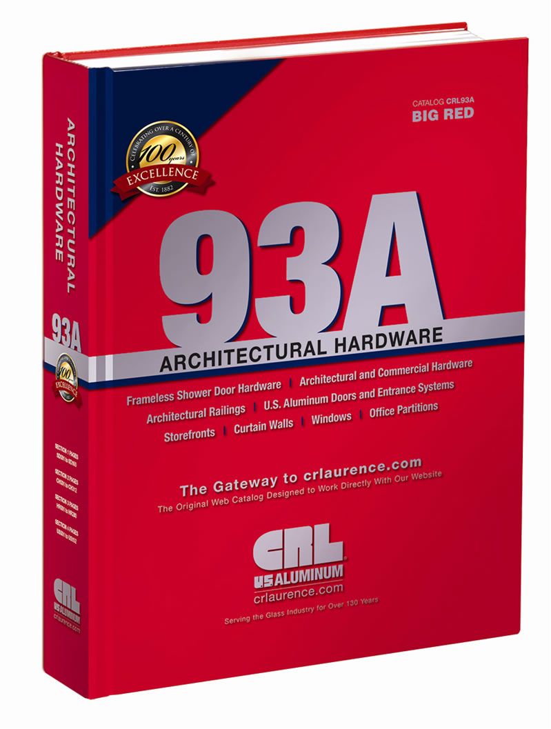 C R  Laurence Introduces New CRL93A Architectural Hardware Catalog
