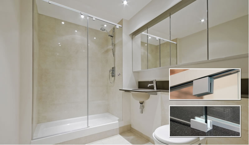 Crl Debuts Cabo Soft Slide Frameless Shower Door Systems