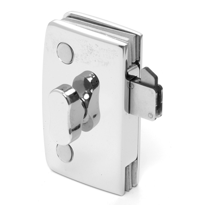 Sliding Glass Door Lock With Indicator, Standard Series Knobs