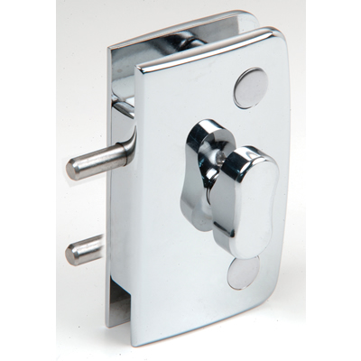 Swinging Glass Door Lock With Indicator, Traditional Series Knobs